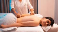 Ilustrasi perawatan spa