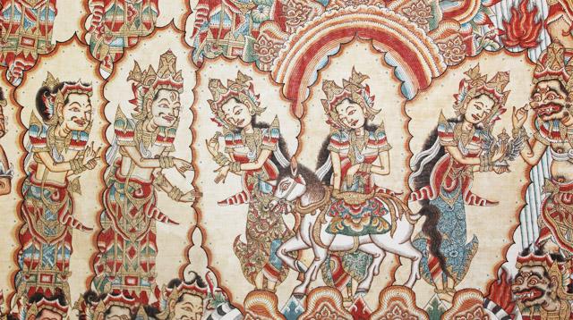 Lukisan Wayang Kamasan