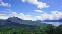Pemandangan Gunung Batur dari Penelokan.