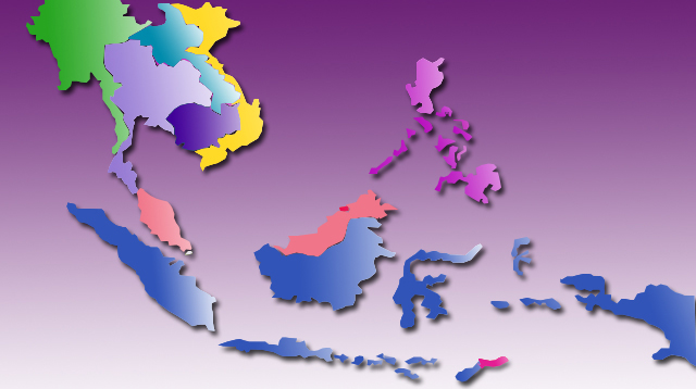 Ilustrasi Peta ASEAN