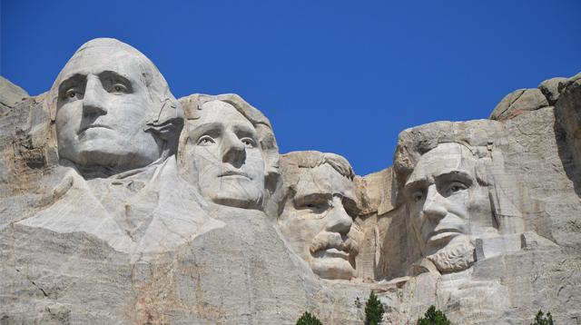 Pahatan empat presiden AS