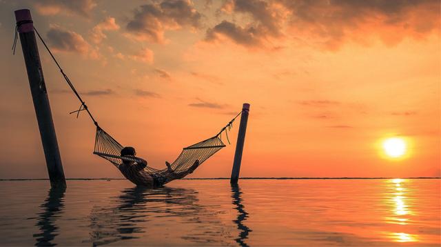 Ilustrasi hammock