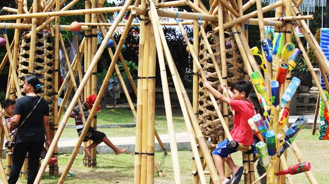 Ayunan bambu